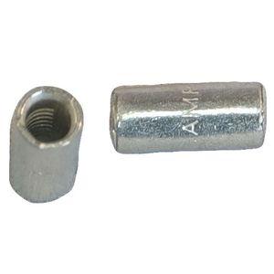 Befestigungs Klammer 5 Stück SNAP Kabel Bügel mit Halterung für Steckdosen grau